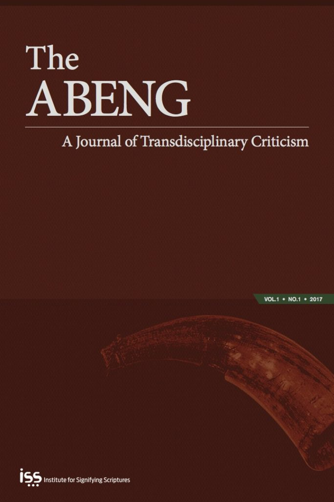 The Abeng 2016 Table of Contents